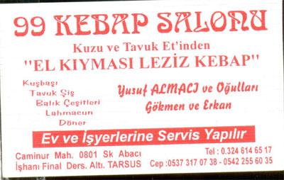 Tarsus Lokanta--Restaurant--Burger