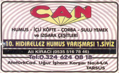 Can Humus Salonu