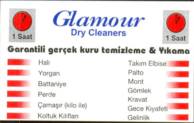 GLMOUR DRY CLEANERS