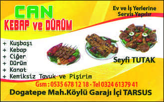 can kebap ve d�r�m