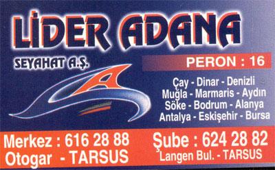 L�DER ADANA