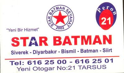 Star Batman Seyahat