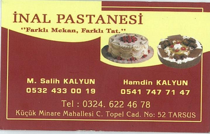 �nal Pastac�l�k ve G�da San. Tic. Ltd. �ti.
