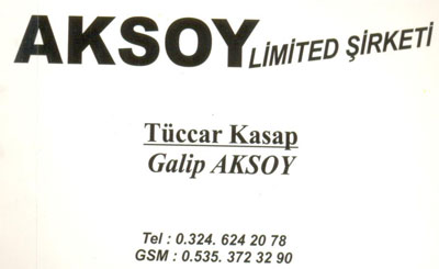 Aksoy LTD.STİ.