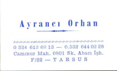 Ayrancı Orhan