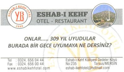 Eshab-ı Kehf Otel Resturant