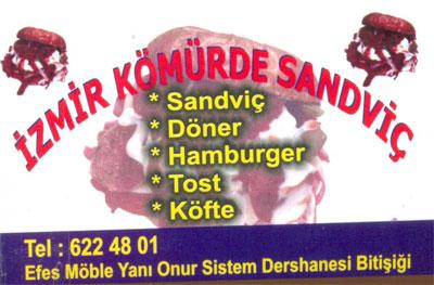 İzmir Kömürde Sandviç