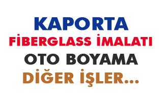 Tarsus Kaporta, Fiberglass İmalat ve Oto Boyama